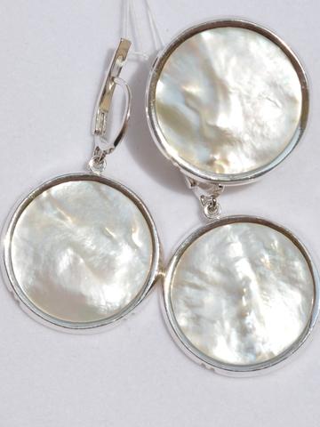 Шадо (кольцо + серьги из серебра)