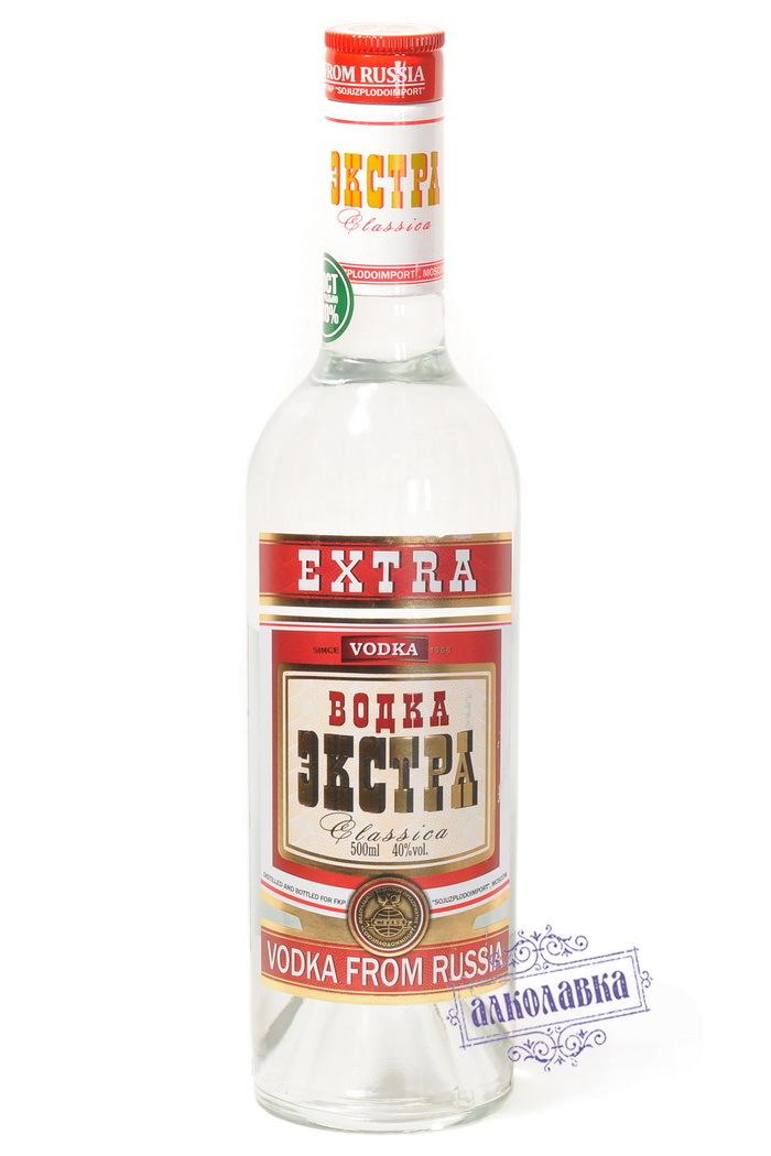 Водка Экстра Классика 0,5 40%