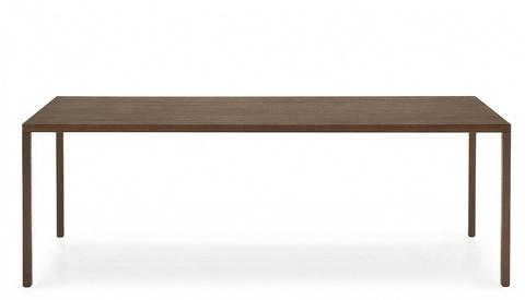 Стол HERON WOOD CS/4070-RL 220, P12/ P12 SMOKE (обеденный, кухонный, для гостиной), Материал каркаса: Металл, Цвет каркаса: Орех, Материал столешницы: Металл, Цвет столешницы: Орех, Цвет: Орех