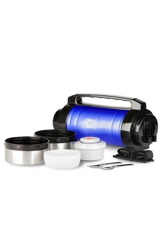 Термос универсальный (для еды и напитков) Арктика (3 литра) с супер-широким горлом, синий