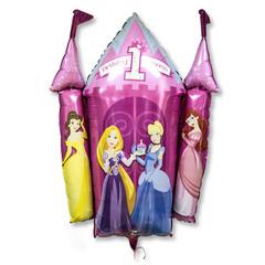 Принцессы 1-ый ДР 63 см