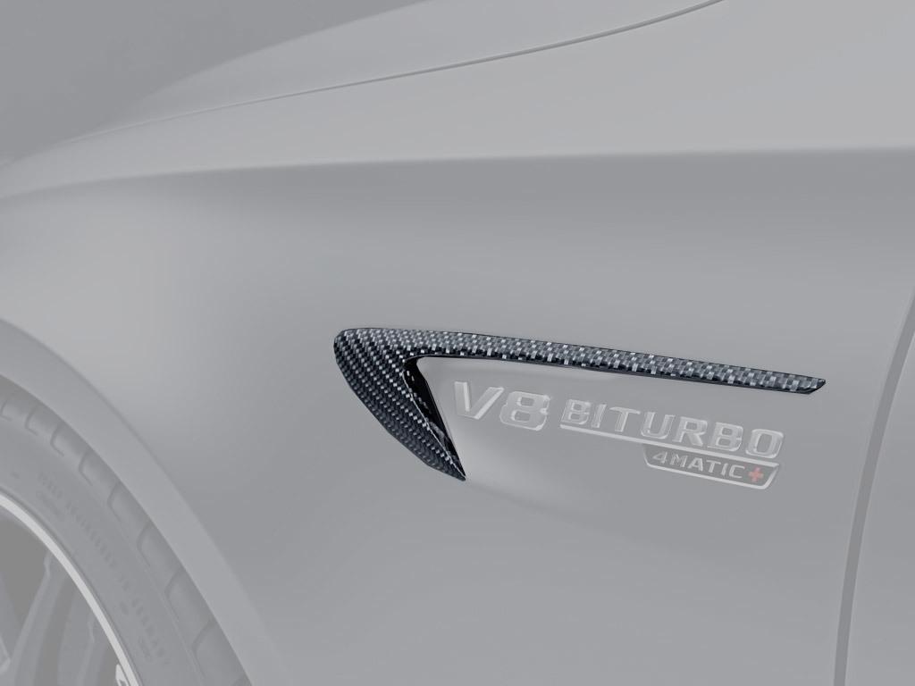 Карбоновые накладки на крылья 63 AMG Style для Mercedes E-class W213