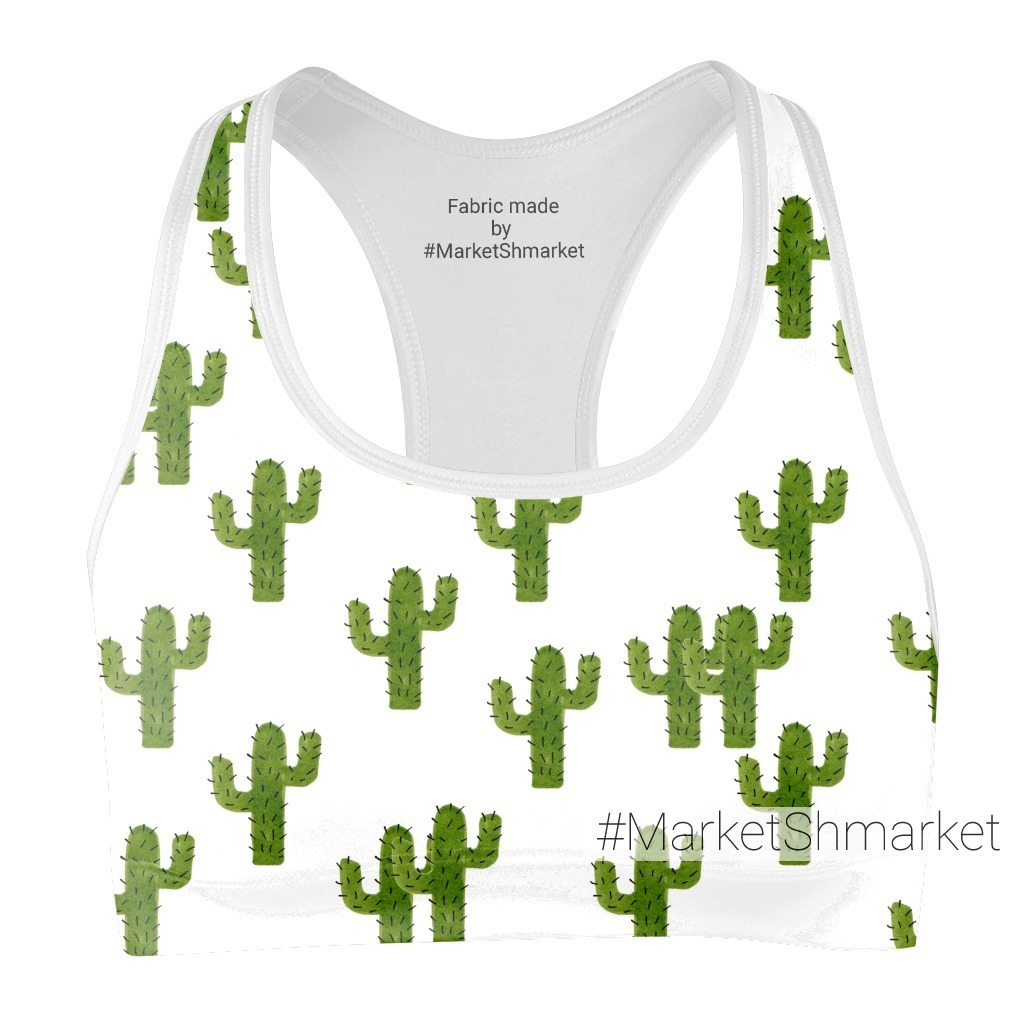 Зеленые кактусы