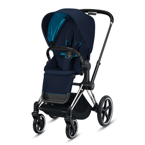 Прогулочная коляска Cybex Priam III Nautical Blue Matt Black