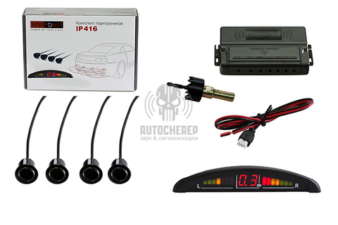 Датчик парковки Interpower IP-416 Black