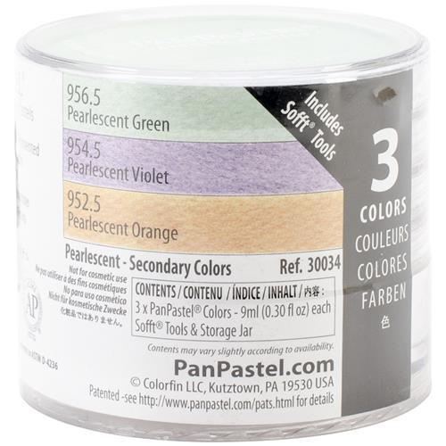 Набор ультрамягкой пастели PanPastel 3 цвета