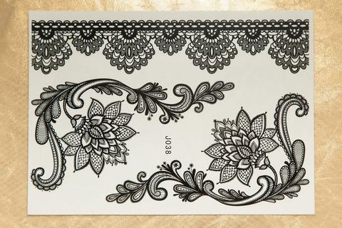 Флеш тату / Flash Tattoo №JO38 купить за 200руб