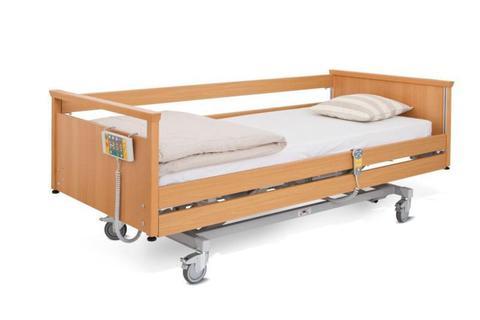 Многофункциональная кровать c деревянными спинками WOOD - фото