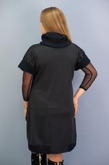 Елла. Сукня великих розмірів. Чорний.