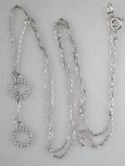 0320296 -0,9 (серебряная цепочка с подвеской)