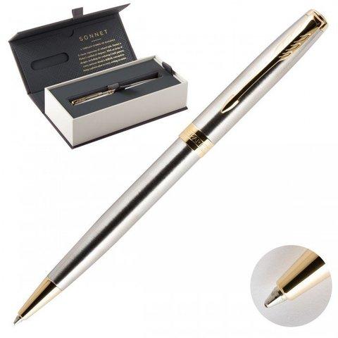 1931507 Parker Sonnet Core Stainless Steel GT Шариковая ручка