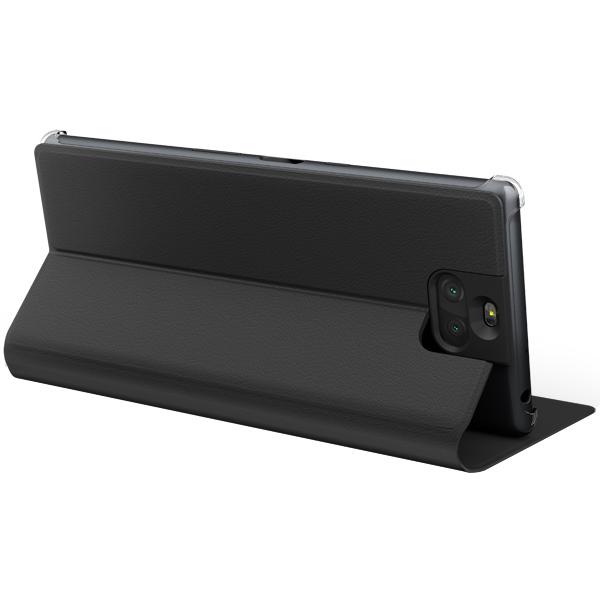 SCSI20AM/B Чехол-подставка для Xperia 10 Plus, цвет черный