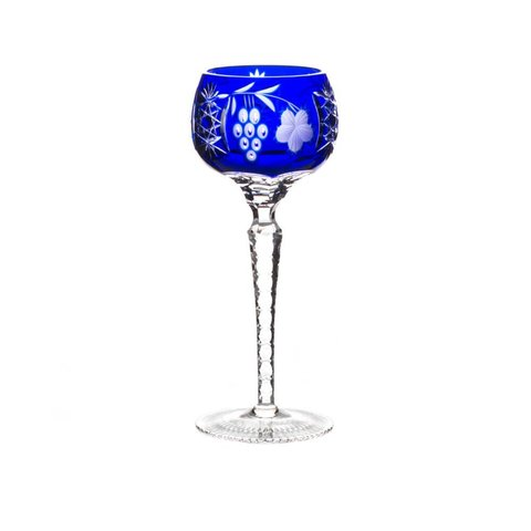 Бокал для вина 220 мл артикул 1/cobaltblue/64581. Серия Grape