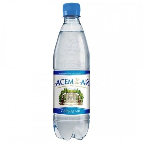 Вода минеральная АСЕМ-АЙ б/газа 1 л Сары-агаш КАЗАХСТАН