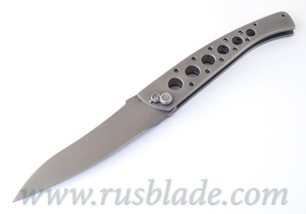 Custom Urakov Pancho Villa M390 knife