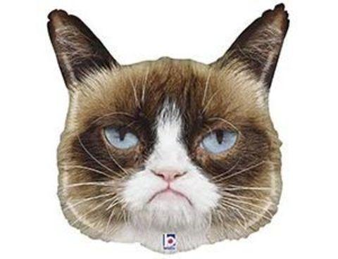 Фольгированный шар Сердитая Кошка