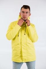 Парка мужская Мембрана желтый