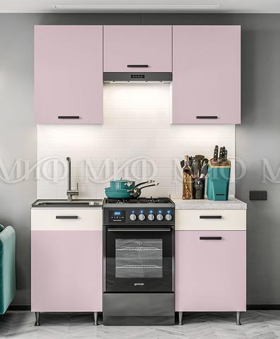 Кухня Рио розовая 1.5 м