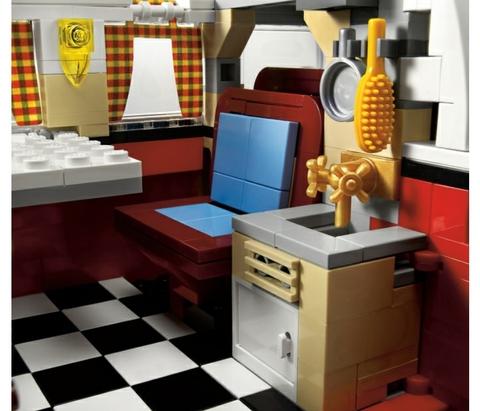 LEGO Creator: Минивэн фольксваген T1 10220 — Volkswagen T1 Camper Van — Лего Креатор Создатель