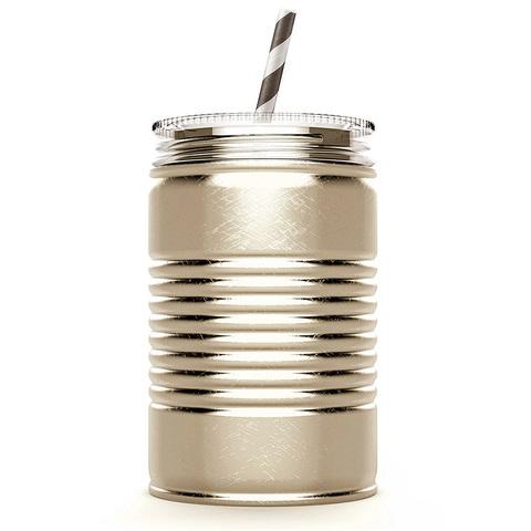 Кружка Asobu I can (0,54 литра), золотистая