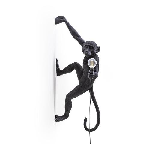 Настенный светильник светильник копия Monkey by Seletti (черный)