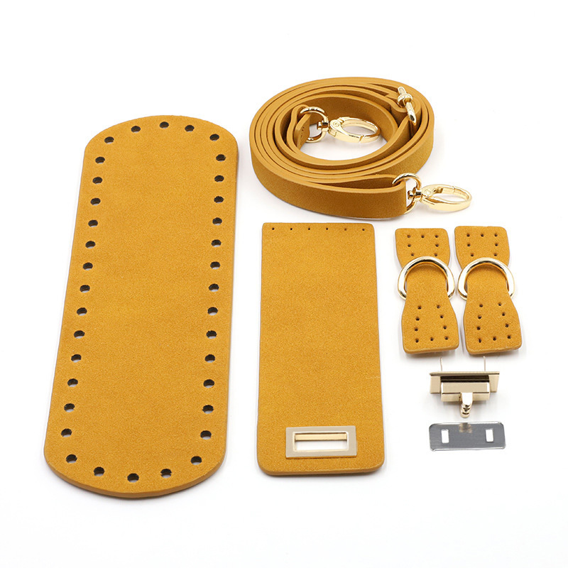 """Фурнитура из эко-кожи Комплект для сумки с клапаном из экокожи """"Светло-коричневый"""" H773b2f4f761e4e0dba31e99b6357f268s.jpg"""