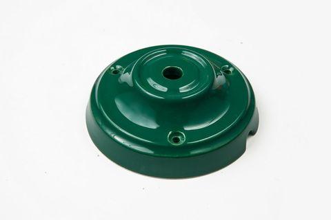 Чашка потолочная керамическая 1 вывод (Зеленый)
