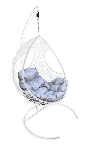Кресло подвесное Ferrol white/grey
