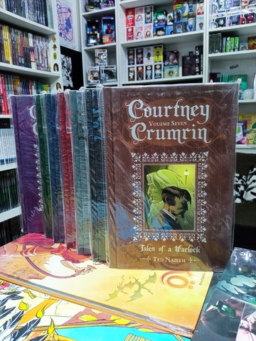 Courtney Crumrin. Vol 1-7 Special Edition Hardcover Set