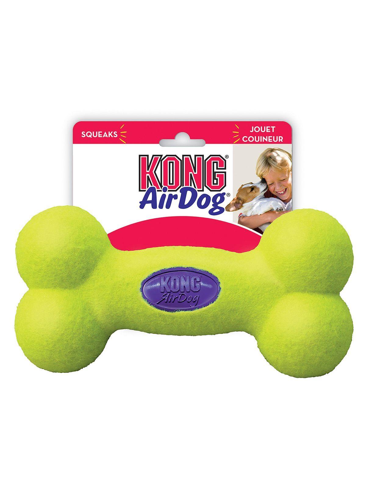 """Игрушки Игрушка для собак KONG Air """"Косточка"""" большая 23 см ASB1_1.jpeg"""