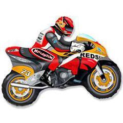 F Мини-фигура, Мотоцикл (оранжевый), 14