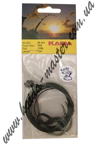 Крючки с поводком Kaida Catfish 36-341-10/0