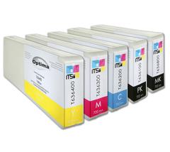 Комплект из 5 картриджей Optima для Epson 7700/9700 5x700 мл