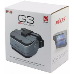 Радиоуправляемый гоночный квадрокоптер MJX Bugs 8  + FPV очки G3 + монитор D43 + FPV камера C5830