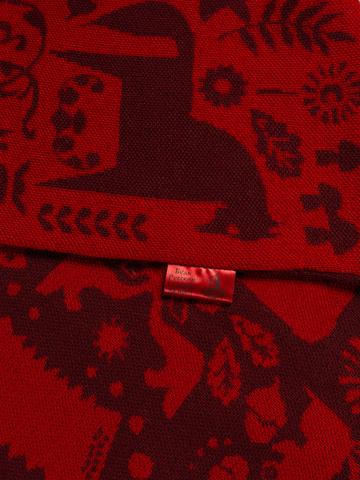 Red Mountain - burgundy tones  No. 6.2  (No fringe)