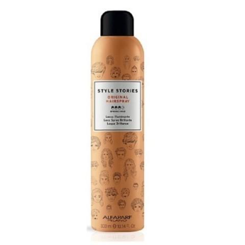 Alfaparf Milano Style Stories: Лак для волос сильной фиксации (Original Hairspray), 300мл/500мл