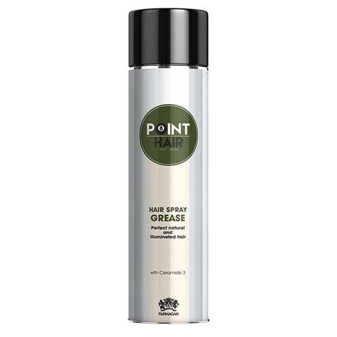 Farmagan Point Hair: Спрей-блеск для волос с легкой фиксацией (Hair Spray Grease), 400мл