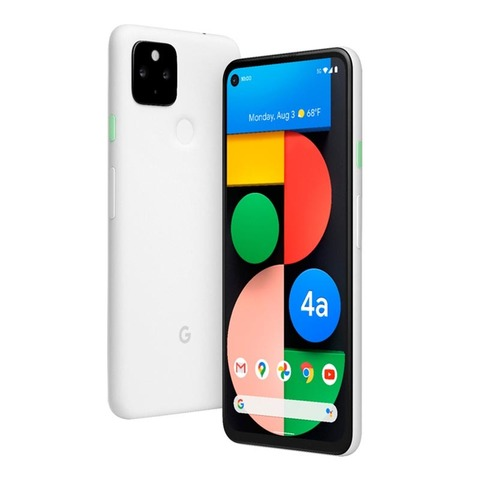 Смартфон Google Pixel 4a 5G 6/128GB Clearly White (Белый)