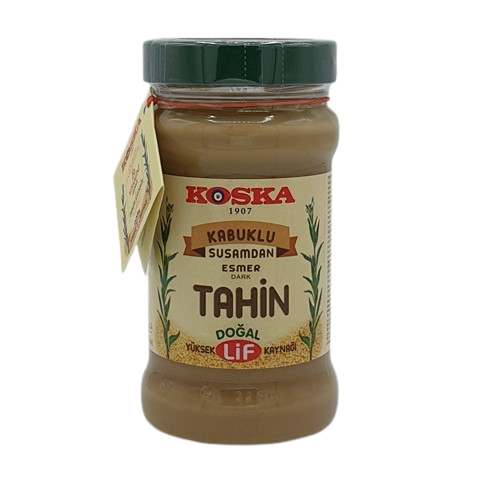 Кунжутная паста тёмная (Тахини) KOSKA, 300 гр