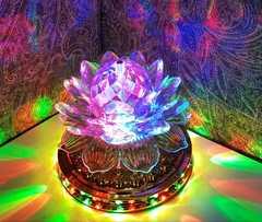 Новогодний светильник с подсветкой