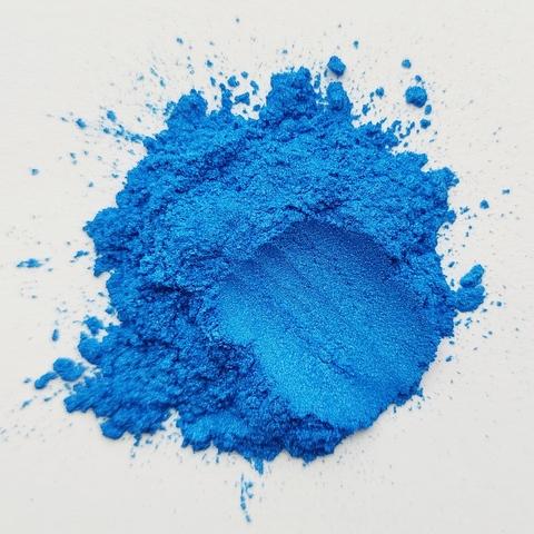 Пигмент для слайма перламутровый синий 20 мл