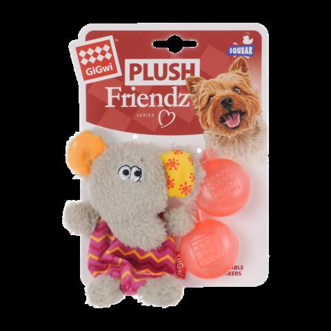 GiGwi Игрушка для собак Слон с пищалкой