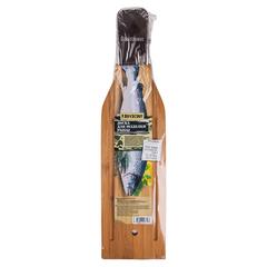 Доска для разделки рыбы, с зажимом, 45 см