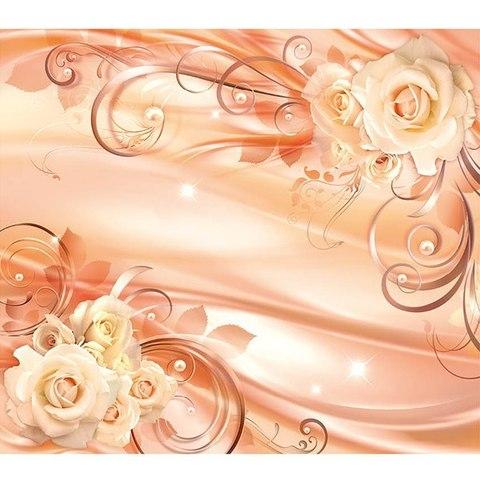Восторг 3D - розы 294x260 см