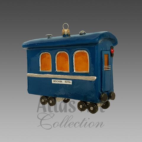 Голубой вагон бежит качается…
