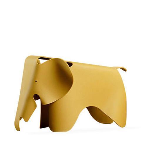 Детский стул Eames Elephant by Vitra (охра)