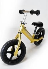 Беговел EcoBalance NEXT, сверхлегкий, 1,9 кг, золотой вид спереди
