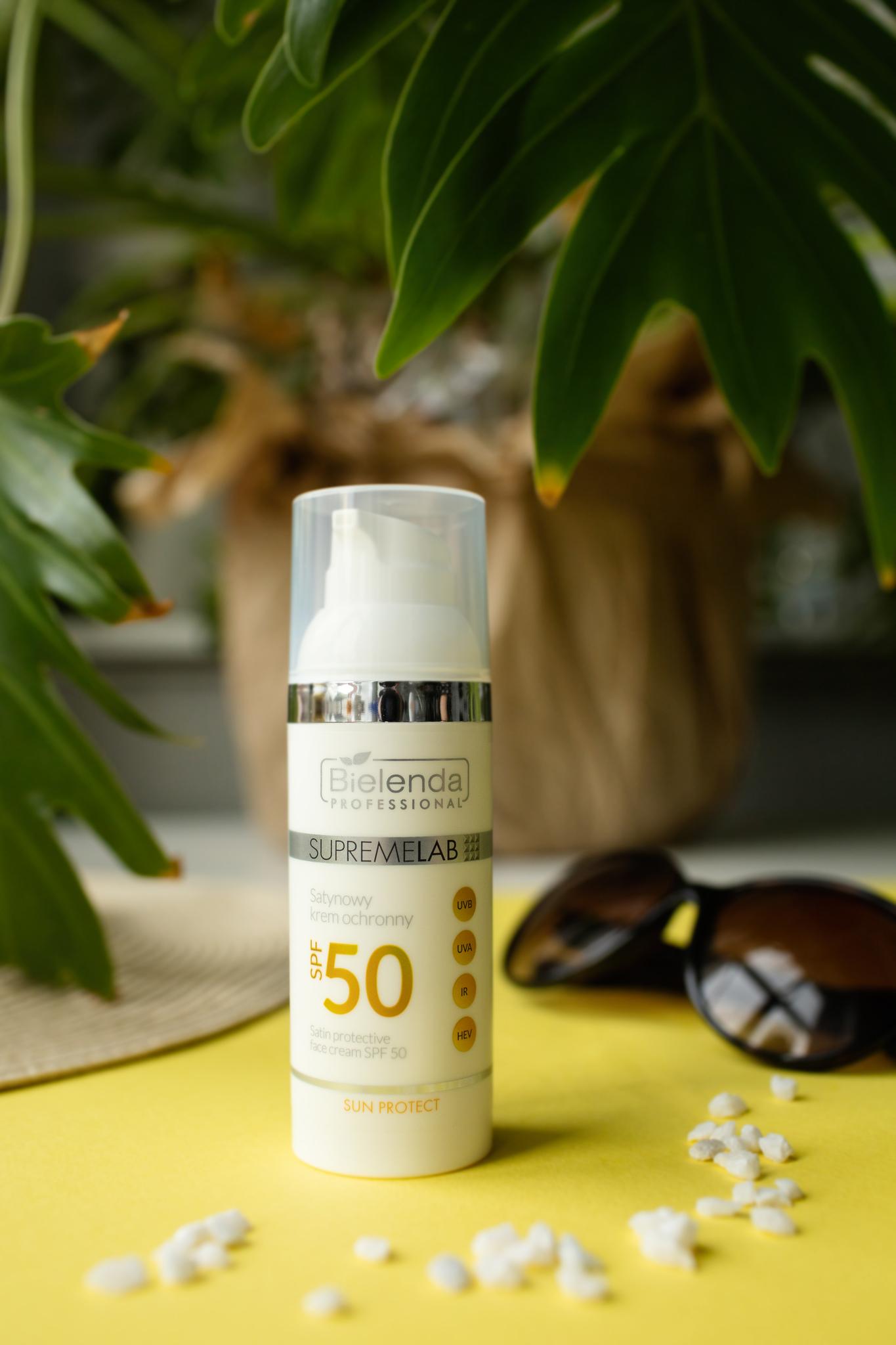 Sun Protect Сатиновый защитный крем для лица SPF 50, 50 мл