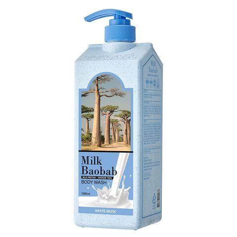 MilkBaobab Perfume Body Wash White Musk парфюмированный гель для душа с ароматом белого мускуса