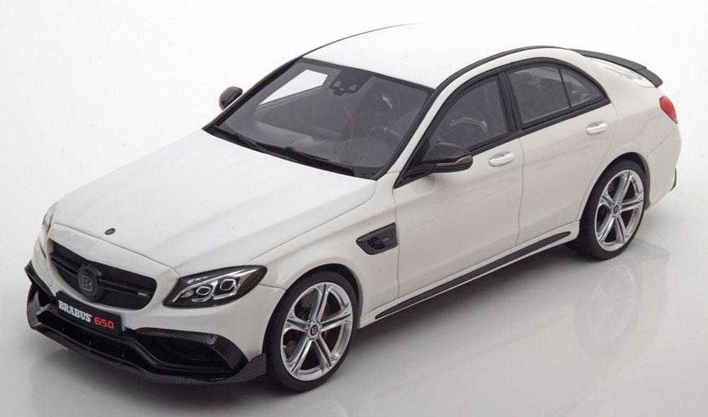 Коллекционная модель Mercedes-Benz Brabus 650 2015 White